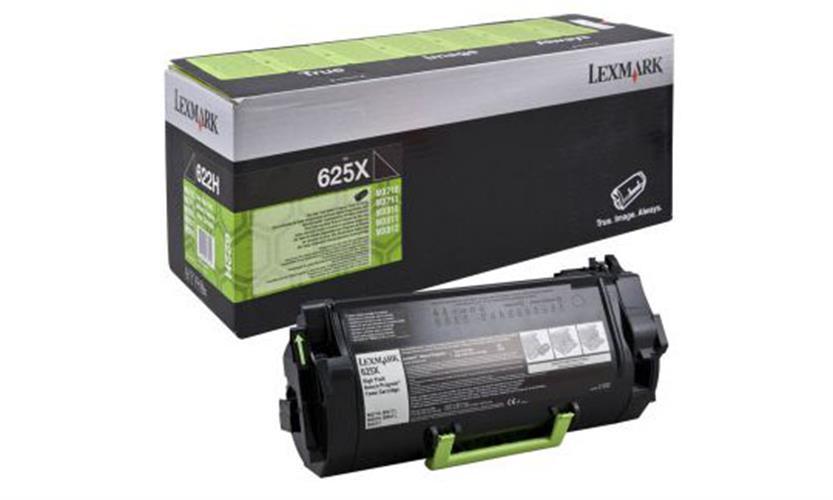 טונר שחור Lexmark MX-711,811 מקורי 62D5X00