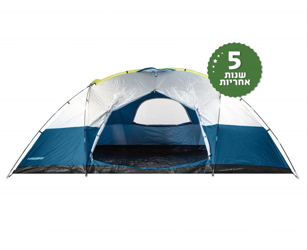 אוהל גלבוע 12 אנשים  צבע כחול אוקיינוס  101064 של חגור