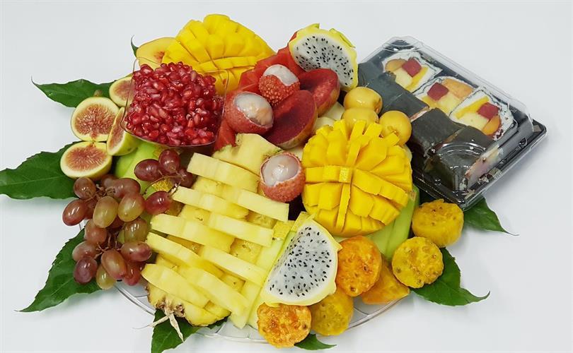 מישלן משולב סושי פירות M - ספיישל שף