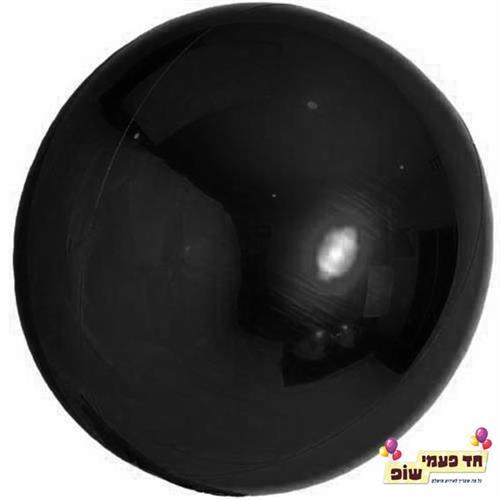 בלון עגול 24 אינץ' שחור (ללא הליום)