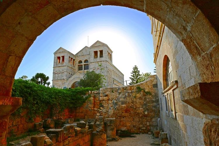 Support Israel and get this picture: Mount Tabor - Church of the Transfiguration