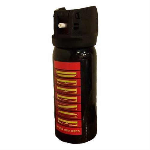 להסרת כל איום והרגשת ביטחון! תרסיס גז פלפל XL דגם Police!