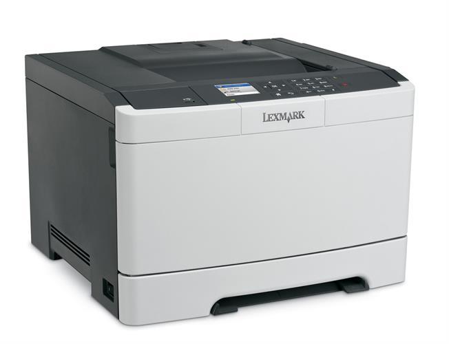 מדפסת לייזר צבעונית דגם Lexmark CS-410dn