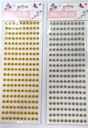 מדבקות יהלום אבנים כסף