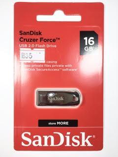 דיסק און קי 16 ג'יגה ברזל SanDisk