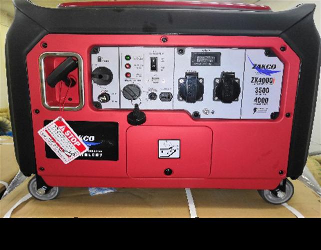 גנרטור אינוורטור בנזין מושתק בהספק 4000 וואט