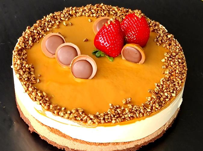 Beauty toffee cake - עוגת טופי