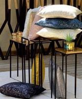 כריות נוי קולקציית - לינוי בד מנצנץ מבחר צבעים
