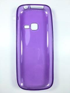 מגן סיליקון לסמסונג E3300 3G בצבע סגול