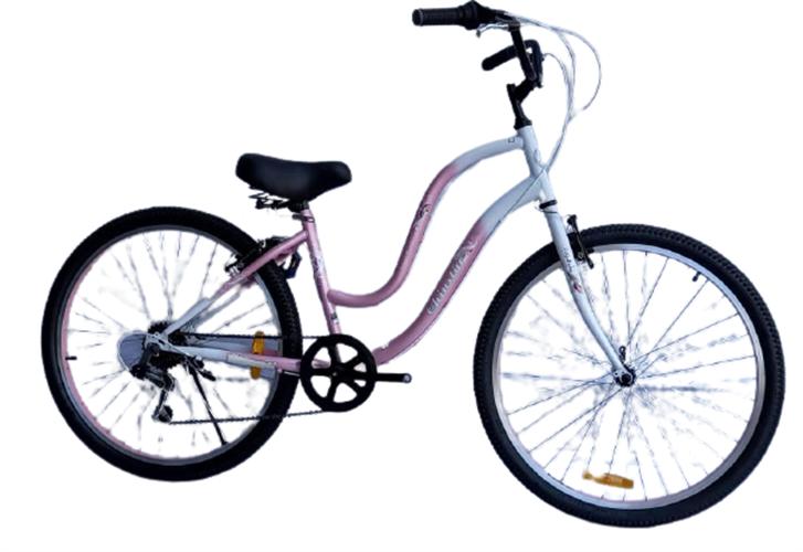 CHINSTAR אופני עיר 26 אינץ' לנשים ורוד