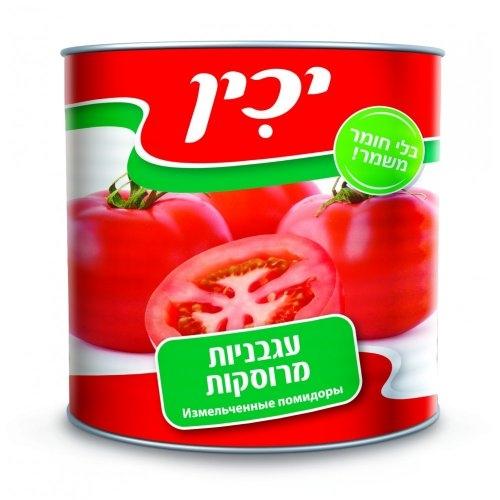 """יכין עגבניות מרוסקות 2.50 ק""""ג"""