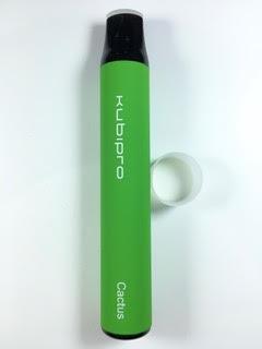 סיגריה אלקטרונית חד פעמית כ 2000 שאיפות Kubipro Disposable 20mg בטעם סברס Cactus