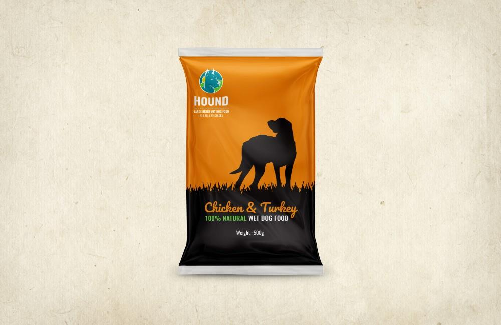 "HOUND תזונה טבעית לגזעים בינוניים-גדולים – 14 ק""ג"