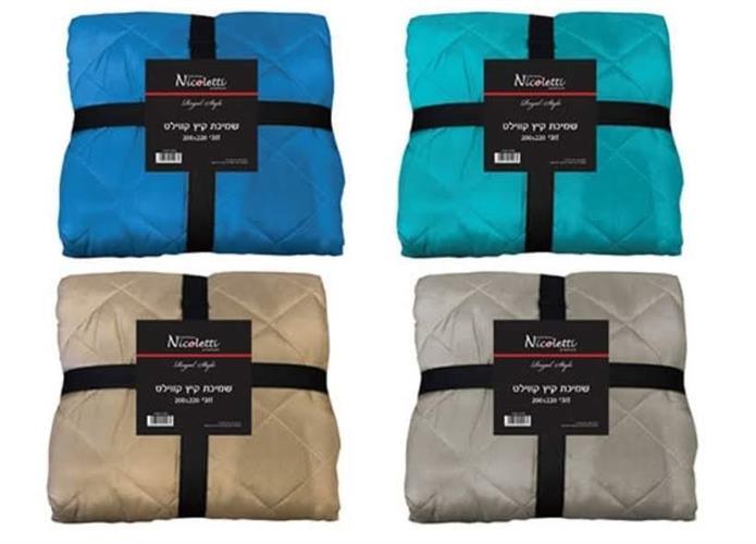שמיכת קיץ זוגי  שמיכה קווילט 220 על 200 סמ'