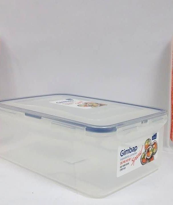 קופסאת אחסון 2.6 ליטר עם 2 תאים מחולקת ל3 דגם LOCK&LOCK T826