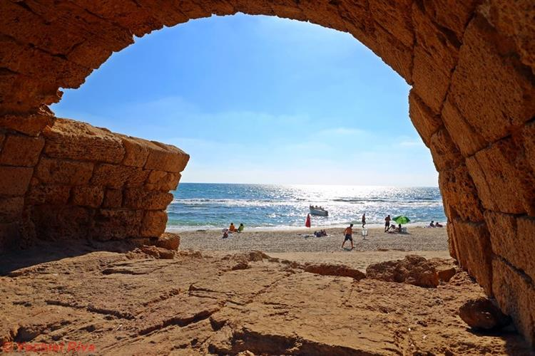 Support Israel and get this picture: Caesarea Maritima