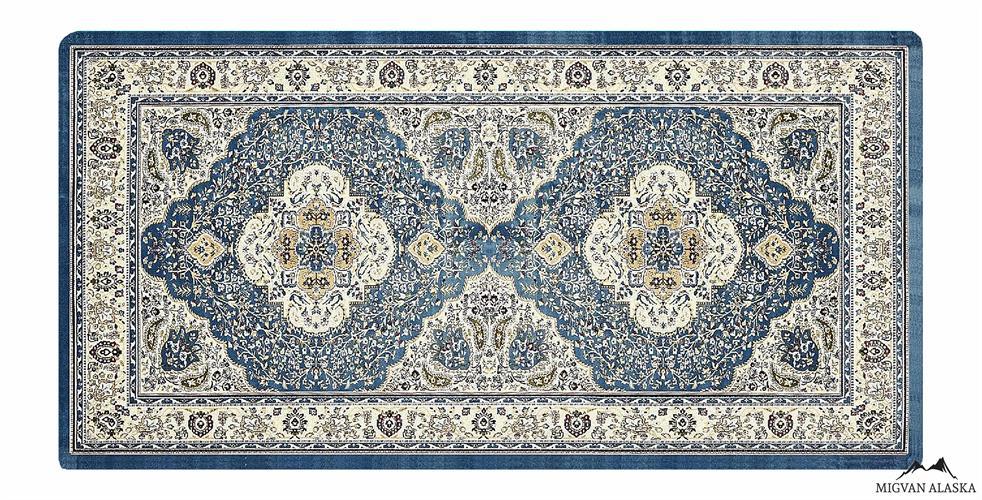 שטיח מטבח דגם - 232 מבד שאניל איכותי (מתנקה בקלות!)