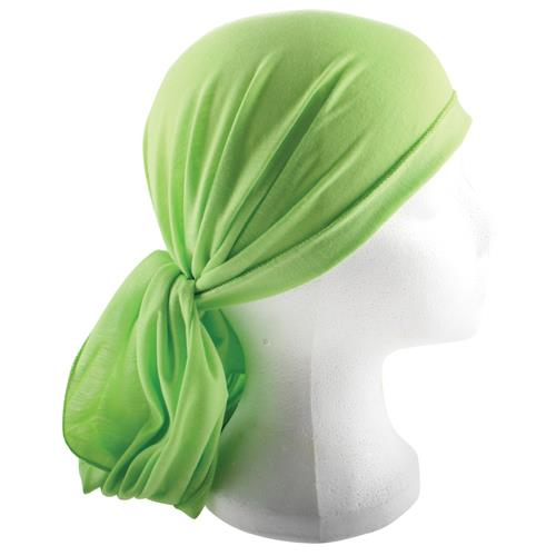 """מטפחת ראש 200*40 ס""""מ ירוק"""