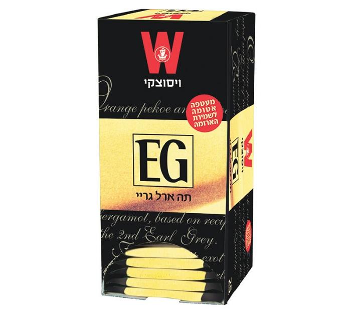 תה ויסוצקי ארל גריי  1.50 גרם  25 שק