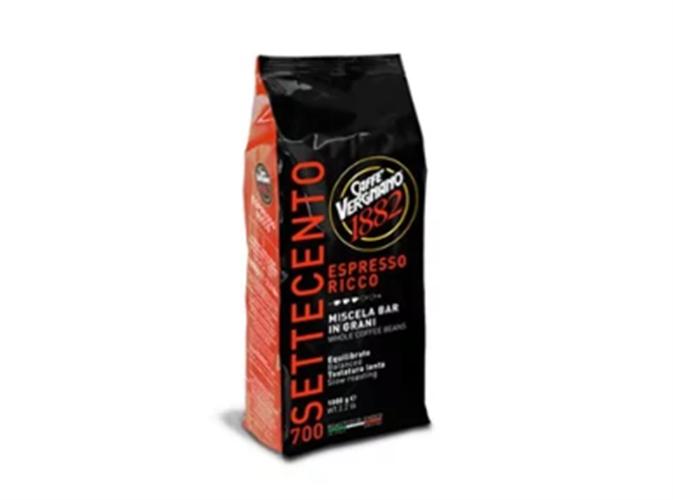 """פולי קפה 1 ק""""ג  70% ערביקה 30% רובוסטה ESPRESSO RICCO 700"""
