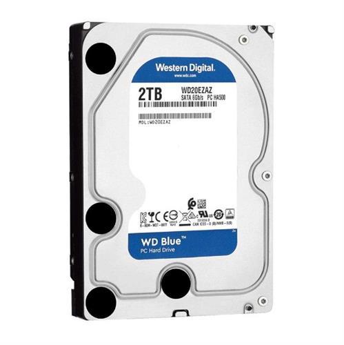 דיסק קשיח פנימי לנייח 3.5 Western Digital 2TB Blue 256MB 5400rpm