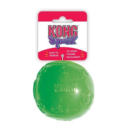 סקוויז צפצפני כדור בינוני צעצוע לכלב קונג