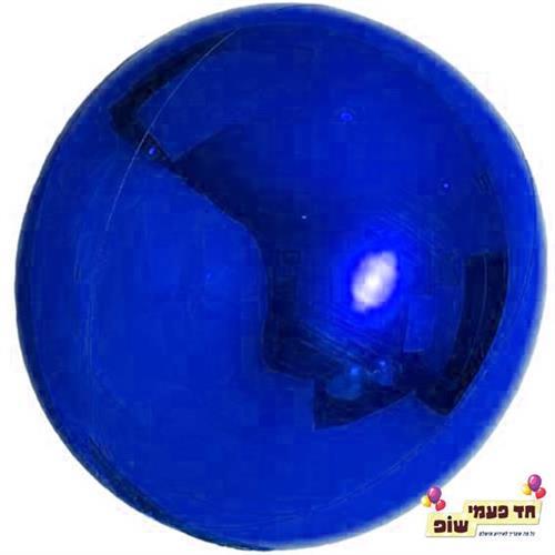בלון עגול 24 אינץ' כחול (ללא הליום)