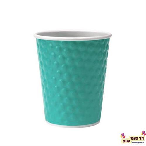 כוס בועות תכלת