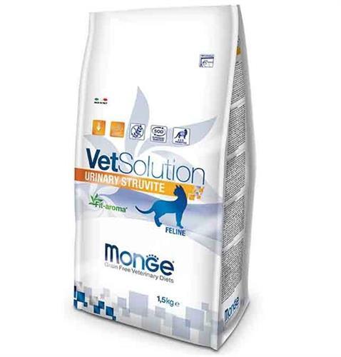 """מונג וט סולושן יורינרי סטרווויט 1.5 ק""""ג Monge VetSolution Urinary Struvite"""