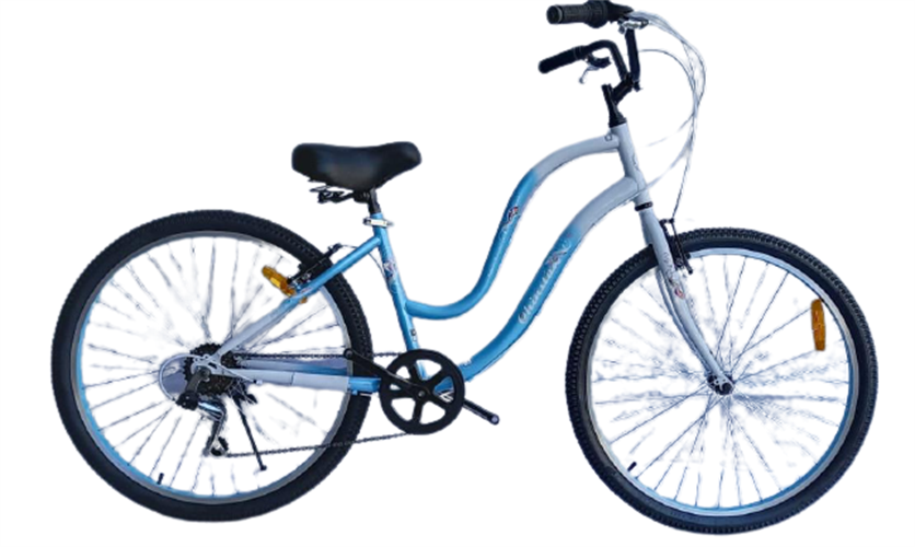 CHINSTAR אופני עיר 26 אינץ' לנשים תכלת