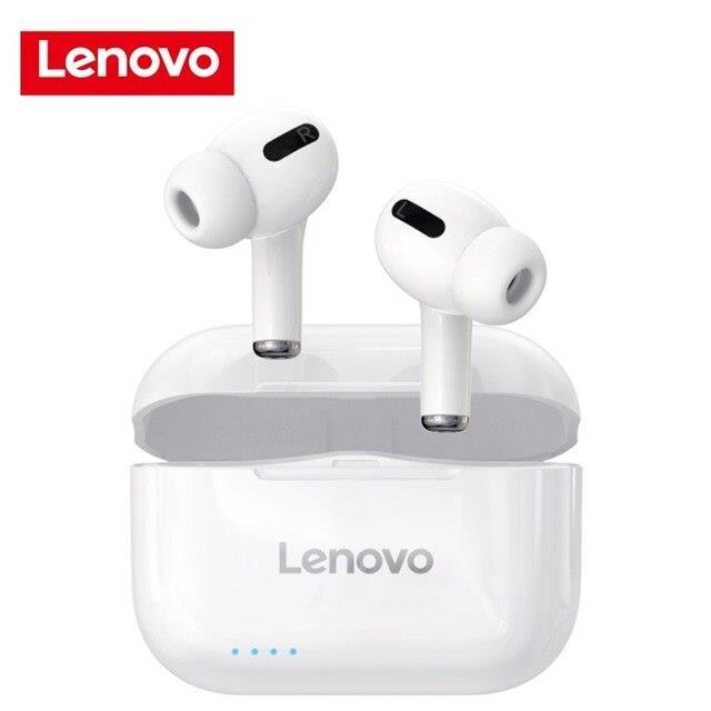 אוזניות בלוטוס - Lenovo LP1S TWS   חדש