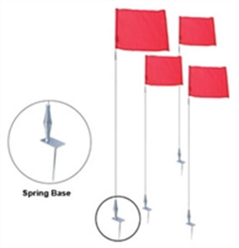 מוטות לדגל קורנר SPRING BASE CORNER FLAG