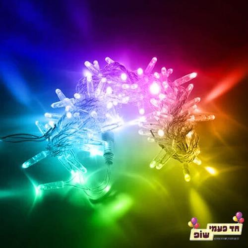 שרשרת אורות צבעוני