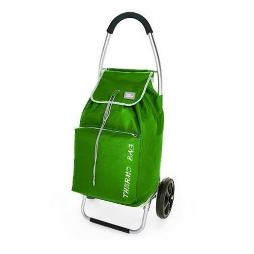 עגלת קניות מתקפלת תרמית food appeal צבע ירוק