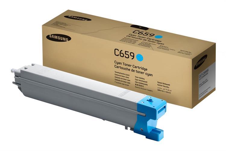 טונר מקורי כחול CLT-C659S למדפסת סמסונג SLX-8640,8650