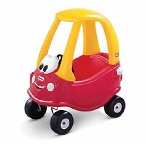 מכונית קופה אדומה