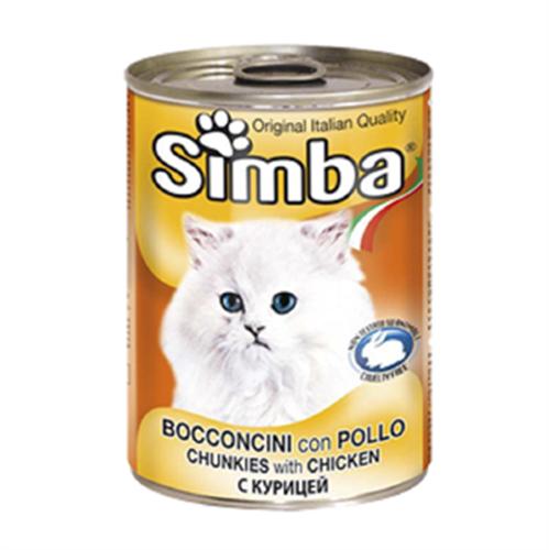 שימורי סימבה עוף לחתול 415 גרם