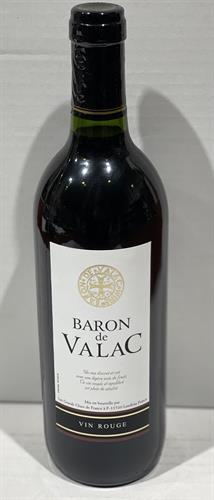 """יין צרפתי BARON DE VALAC אדום יבש 750 מ""""ל"""