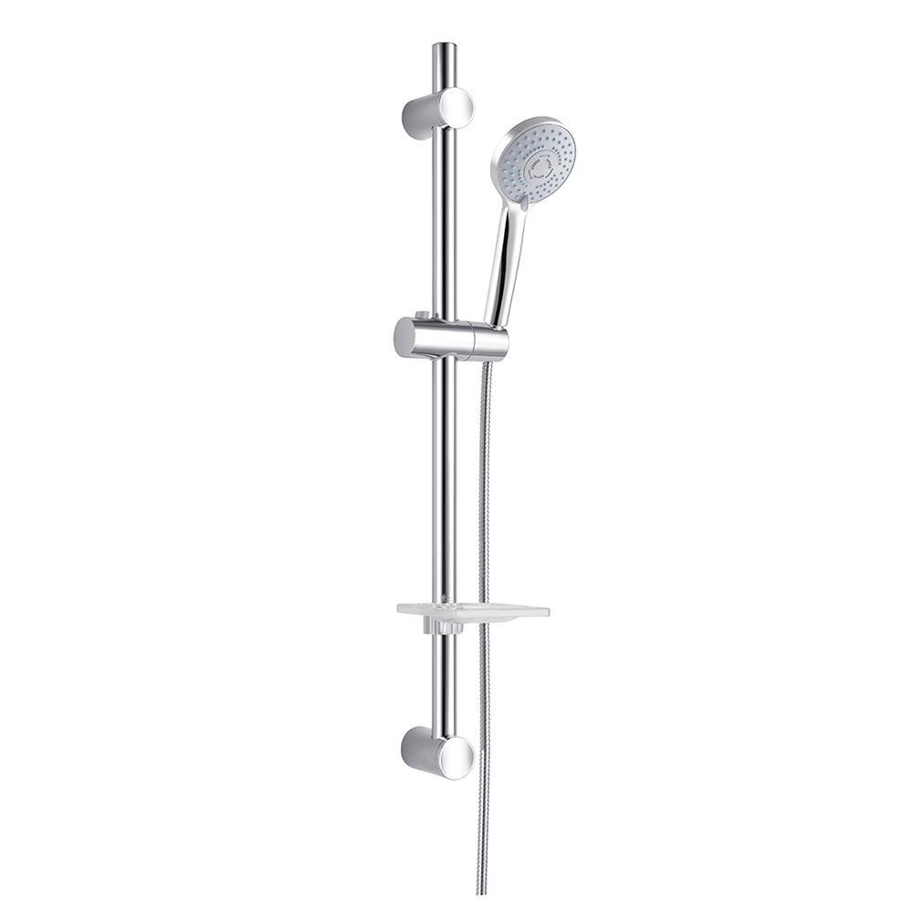מוט מקלחת מתכוונן כולל מזלף 5 מצבים