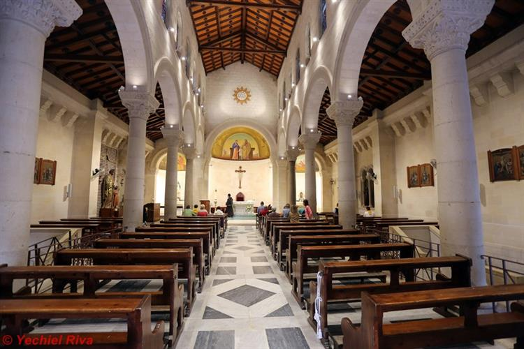 Support Israel and get this picture: St. Joseph's Church, Nazareth