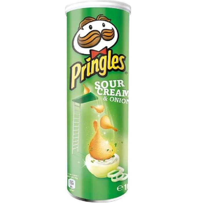 פרינגלס  טעם בצל (ירוק) 165 גרם - מבצע 2 יחידות