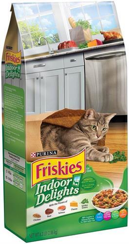 """מזון לחתולים פריסקיז מעדני הבית Friskies Indoor Delights 7.23 ק""""ג"""