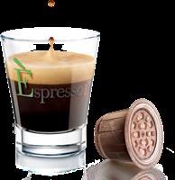 12 מארזים [120 קפסולות 1.2₪ ליח'] קפה אספרסו LUNGO INTENSO [ירוק] ארוך ואינטנסיבי(תואמות Nespresso)