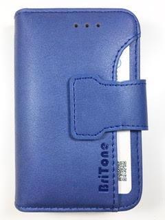 מגן ספר BriTone לנוקיה NOKIA C2 בצבע כחול
