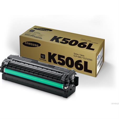טונר מקורי שחור סמסונג CLT-K506L למדפסות CLX-6260 CLP-680