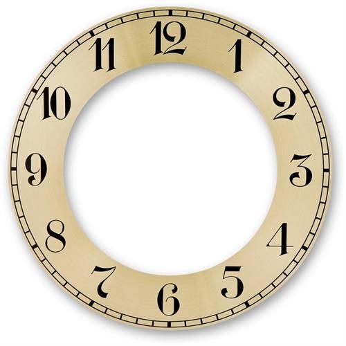 מסגרת קוטר 152 ממ ליצירת שעון