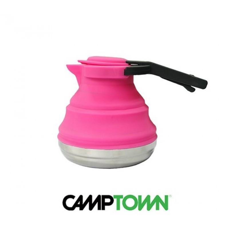 קומקום סיליקון מתקפל 1.2 ליטר תוצרת CAMPTOWN