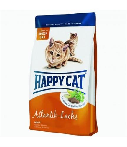 """4001967019360 מזון יבש לחתולים בטעם סלמון 10 ק""""ג Happy Cat"""