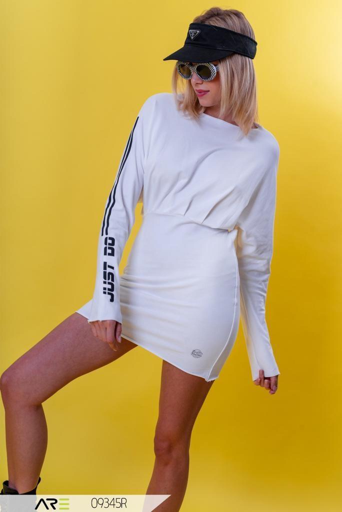 שמלה Do it לבנה