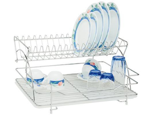 מתקן לייבוש כלים דו קומתי אל חלד